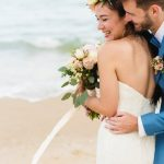bride-groom-beach