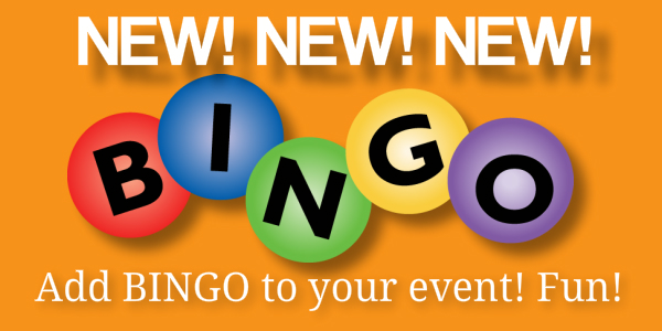 Add BINGO to your event! www.pianistdj.com